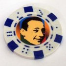Pee Wee Herman Las Vegas Casino Poker Chip limited ed