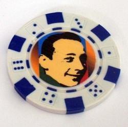 Pee Wee Herman Las Vegas Casino Poker Chip limited ed
