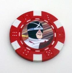 Speed RACER X Las Vegas Casino Poker Chip limited ed