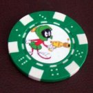 Marvin The Martian Las Vegas Casino Poker Chip lim Ed
