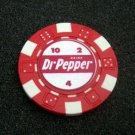 Dr. Pepper vintage ad Las Vegas Casino Poker Chip RARE