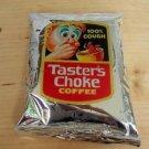 Wacky Packages REAL Tasters Choke sealed coffee pack