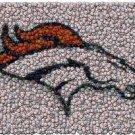 Best Bar Game Denver Broncos Room Sign EVER framed COA