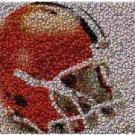 Best Bar Game Room Cleveland Browns Sign framed w/COA