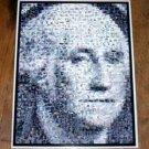 Amazing George Washington on the Dollar MONEY Montage