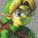 Amazng LINK The Legend of Zelda Montage art print w/COA