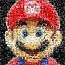 Amazing Mario Nintendo Video Game Montage super print