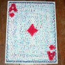 Amazing Ace of Diamonds POKER WSOP Montage Limited COA