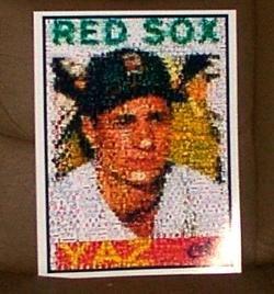 Boston Red Sox CARL YASTRZEMSKI rookie card Montage YAZ