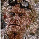 Amazing Back To The Future DOC Bottlecap mosaic print