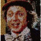 Gene Wilder Willy Wonka Poker Chip Mosaic with COA