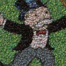 Monopoly Rich Uncle Pennybags Bottlecap mosaic print