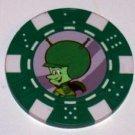 the Flintstones Great Gazoo Las Vegas Casino Poker Chip