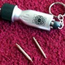 ABC LOST TV Show Dharma prop KeyChain flashlight +tools