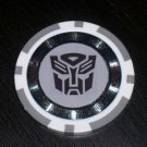 Las Vegas Transformers Autobot Casino Poker Chip