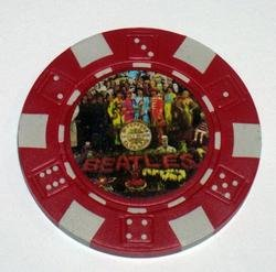 The Beatles Sgt. Peppers Las Vegas Casino Poker Chip