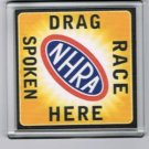 NHRA Drag Racing Spoken Here Coaster or Change Tray