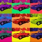 CANVAS 1967 Chevrolet Corvette poster pop art print