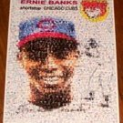 Amazing CUBS Ernie Banks 1954 Topps Rookie Card Montage
