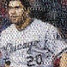 Amazing Chicago White Sox Carlos Quentin Montage w/COA