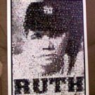 Amazing Babe Ruth New York Yankees Montage 1 of only 25