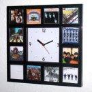 Rare The Beatles Clock 12 greatest mini album covers