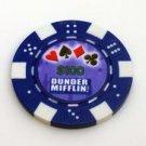 The Office Dunder Mifflin Las Vegas Casino Poker Chip