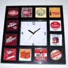 classy History of Dr. Pepper Soda Pop Clock 12 pictures