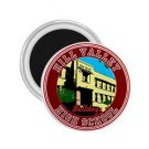 Back To The Future Hill Valley High School prop magnet