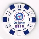 ABC LOST TV Show Oceanic Airlines $815 Poker Chip prop
