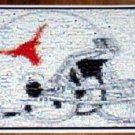 Amazing Texas Longhorns Football Helmet State Montage