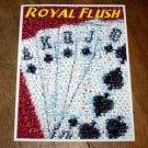 Amazing Royal Flush POKER WSOP Montage art print w/COA