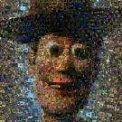 Amazing Toy Story WOODY scene Giclée montage art print