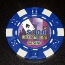 Las Vegas Batman Gotham City $100 Casino Poker Chip