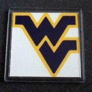WVU West Virginia Mountaineers fine Coaster Change Tray