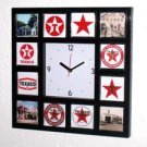 Clock History of Texaco Gasoline 12 pictures