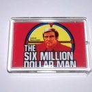 Six 6 Million Dollar Man magnet display Steve Austin