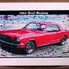 AMAZING 1964 FORD Mustang Montage original Art 1 of 25