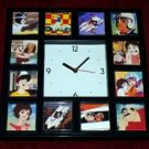 1960s Speed Racer Clock with 12 pictures