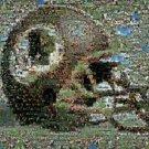 Washington Redskins Super Bowl 17 scene helmet montage