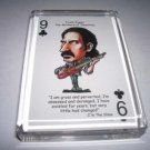 Acrylic Frank Zappa executive Desk Top Paperweight