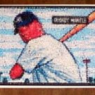 Amazing Mickey Mantle Bowman Rookie card Yankee montage