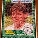 Amazing Dallas Cowboys Troy Aikman Rookie Card Montage