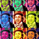 CANVAS 1974 Willy Wonka pop art original poster print