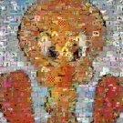 Amazing Tweety Bird 60s/70s cartoon mix scene montage