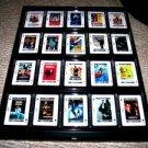 RARE 20 X 16 set James Bond 007 movie posters display