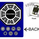 ABC tv show LOST Dharma Sations playing cards NEW prop