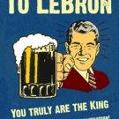 Cleveland Cavaliers FRAMED HATE LeBron James Bar Sign