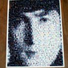 Amazing 1964 John Lennon face The Beatles montage RARE