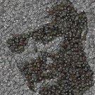 ABC LOST TV Show Amazng John Locke Dharma button mosaic